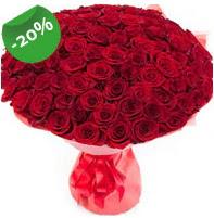 Özel mi Özel buket 101 adet kırmızı gül  Karaman yurtiçi ve yurtdışı çiçek siparişi