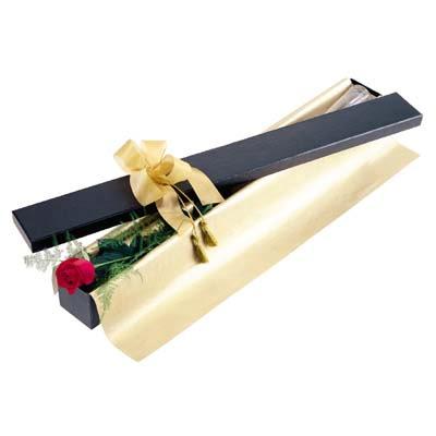 Karaman kaliteli taze ve ucuz çiçekler  tek kutu gül özel kutu