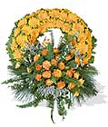 cenaze çiçegi celengi cenaze çelenk çiçek modeli  Karaman hediye çiçek yolla