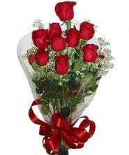 9 adet kaliteli kirmizi gül   Karaman çiçek satışı