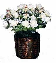 yapay karisik çiçek sepeti   Karaman çiçek servisi , çiçekçi adresleri