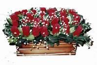 yapay gül çiçek sepeti   Karaman hediye sevgilime hediye çiçek