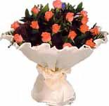 11 adet gonca gül buket   Karaman hediye çiçek yolla
