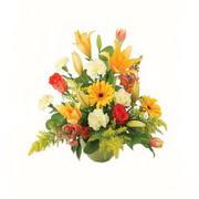 karisik renkli çiçekler tanzim   Karaman hediye çiçek yolla