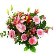 lilyum ve gerbera çiçekleri - çiçek seçimi -  Karaman çiçek siparişi sitesi