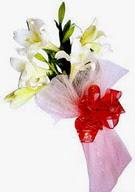 Karaman internetten çiçek siparişi  ince vazoda gerbera ve ayi