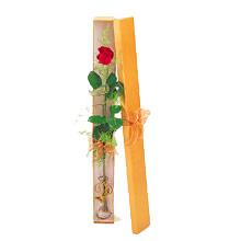 ince  kutuda  1  gül   Karaman çiçekçi mağazası