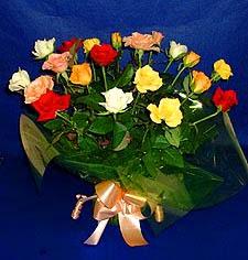 Karaman online çiçek gönderme sipariş  13 adet karisik renkli güller