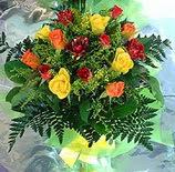 13 adet karisik gül buketi demeti   Karaman kaliteli taze ve ucuz çiçekler