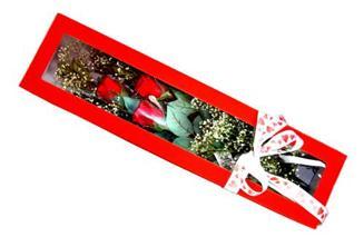 Karaman online çiçek gönderme sipariş  Kutuda 3 adet gül