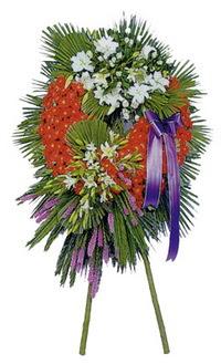 Karaman çiçek servisi , çiçekçi adresleri  cenaze çelengi