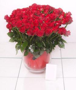 Karaman çiçek servisi , çiçekçi adresleri  101 adet kirmizi gül