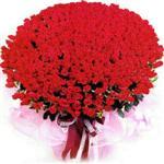 Karaman çiçek satışı  1001 adet kirmizi gülden çiçek tanzimi