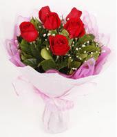 9 adet kaliteli görsel kirmizi gül  Karaman çiçek siparişi sitesi