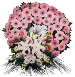 Cenaze çelengi cenaze çiçekleri  Karaman hediye sevgilime hediye çiçek