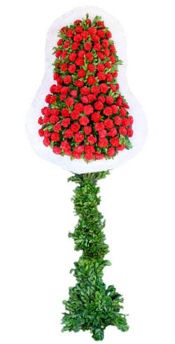 Dügün nikah açilis çiçekleri sepet modeli  Karaman ucuz çiçek gönder