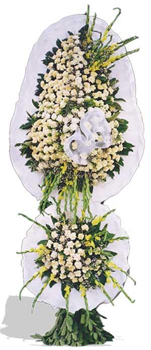 Dügün nikah açilis çiçekleri sepet modeli  Karaman hediye çiçek yolla
