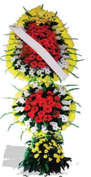 Dügün nikah açilis çiçekleri sepet modeli  Karaman çiçekçi mağazası