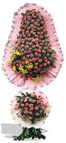 Dügün nikah açilis çiçekleri sepet modeli  Karaman internetten çiçek satışı
