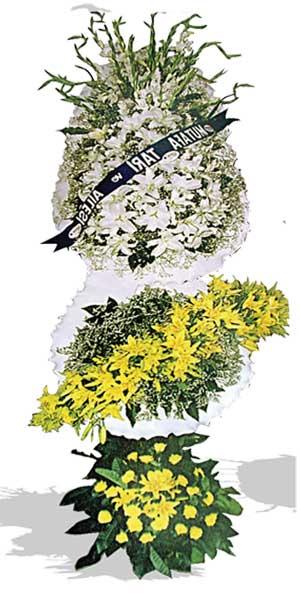 Dügün nikah açilis çiçekleri sepet modeli  Karaman internetten çiçek siparişi