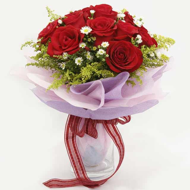 Çiçek gönderme estetikliginiz 11 gül buket  Karaman cicek , cicekci