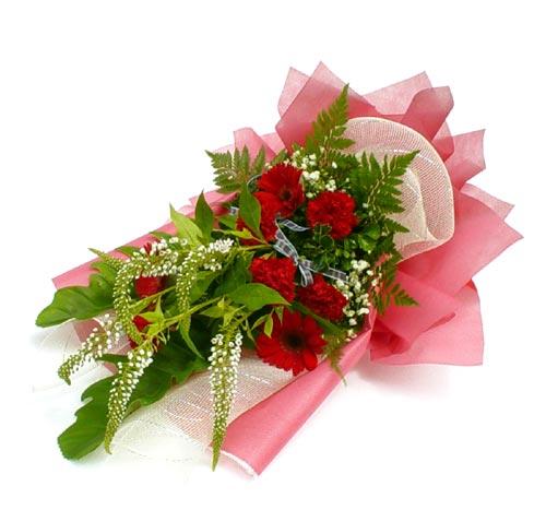 Karisik çiçek buketi mevsim buket  Karaman cicekciler , cicek siparisi