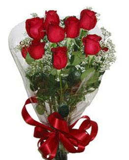 Çiçek sade gül buketi 7 güllü buket  Karaman çiçek online çiçek siparişi