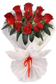 11 adet gül buketi  Karaman anneler günü çiçek yolla  kirmizi gül