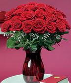 Karaman çiçek yolla , çiçek gönder , çiçekçi   11 adet Vazoda Gül sevenler için ideal seçim