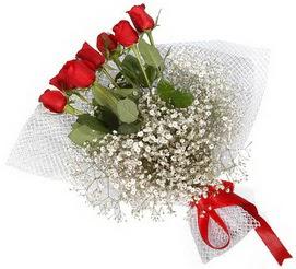 7 adet essiz kalitede kirmizi gül buketi  Karaman online çiçekçi , çiçek siparişi