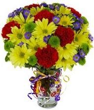 En güzel hediye karışık mevsim çiçeği  Karaman online çiçek gönderme sipariş
