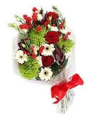 Kız arkadaşıma hediye mevsim demeti  Karaman çiçek online çiçek siparişi