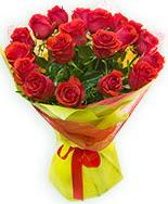 19 Adet kırmızı gül buketi  Karaman hediye sevgilime hediye çiçek