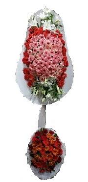çift katlı düğün açılış sepeti  Karaman uluslararası çiçek gönderme