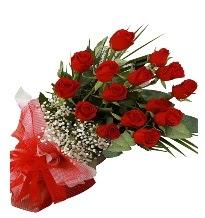 15 kırmızı gül buketi sevgiliye özel  Karaman hediye çiçek yolla