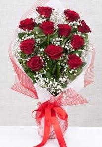 11 kırmızı gülden buket çiçeği  Karaman güvenli kaliteli hızlı çiçek
