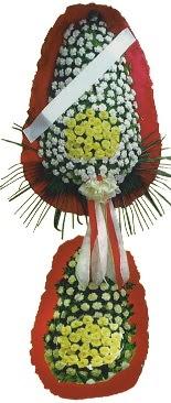 Çift katlı düğün açılış çiçeği  Karaman İnternetten çiçek siparişi