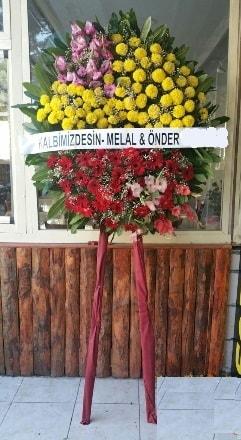 Karaman yurtiçi ve yurtdışı çiçek siparişi  Cenaze çiçek modeli