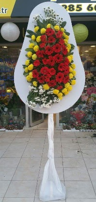 Tek katlı düğün nikah açılış çiçeği  Karaman hediye sevgilime hediye çiçek