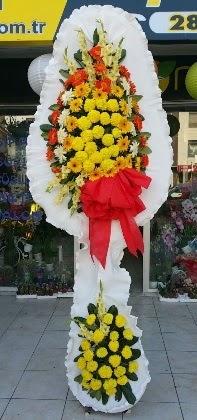 Çift katlı düğün nikah açılış çiçeği  Karaman çiçek gönderme