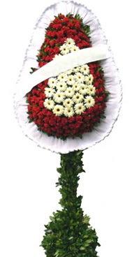 Çift katlı düğün nikah açılış çiçek modeli  Karaman ucuz çiçek gönder
