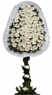 Tek katlı düğün nikah açılış çiçek modeli  Karaman cicekciler , cicek siparisi