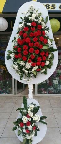 2 katlı nikah çiçeği düğün çiçeği  Karaman çiçek siparişi sitesi