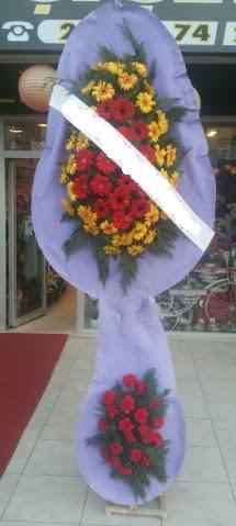 Çift katlı nikah düğüne çiçek modeli  Karaman anneler günü çiçek yolla