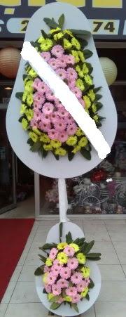 Çift katlı düğün nikah açılış çiçeği  Karaman yurtiçi ve yurtdışı çiçek siparişi
