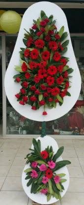 Çift katlı düğün nikah açılış çiçek modeli  Karaman anneler günü çiçek yolla