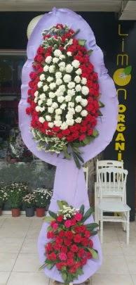 Çift katlı işyeri açılış çiçek modeli  Karaman çiçek siparişi vermek
