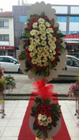 Çift katlı düğün açılış çiçeği  Karaman çiçekçiler