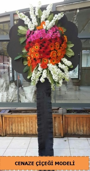 Karşıyaka mezarlığı cenaze çiçeği  Karaman çiçekçiler