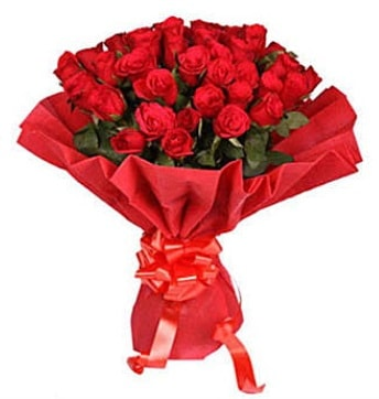 41 adet gülden görsel buket  Karaman çiçekçiler